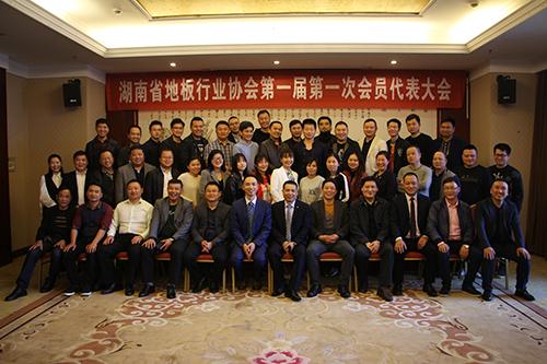 湖南省地板行业协会 —— 第一届第一次会员代表大会